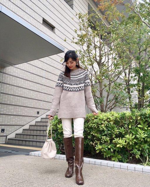 """Ayako on Instagram: """"@sesto_shoes 様のアンバサダーをさせていただくことになりました。 欲しいなぁと思っていたロングブーツ👢 商品名:スクェアトゥチャンキーヒールロングブーツ カラー: ブラウン  少し丸味を帯びたスクエアトゥで程よい太さのチャンキーヒール✨ 高級感あるレザー調。…"""" (128948)"""