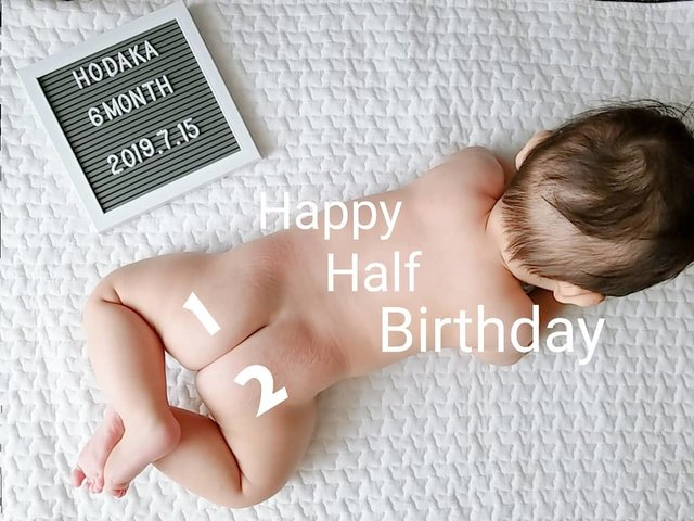 """𝙷𝙾𝙳𝙰𝙺𝙰 on Instagram: """"⚘◌゚ . . #生後182日 . Happy Half Birthday HODAKA⸙𓐍𓏸 すくすく元気に育ってくれてありがとう𔐄❤︎"""" 離乳食𓎩もモリモリ食べてくれて 母ちゃん嬉しいよ◡̈𖦊* これからもいっぱい食べて遊んで 元気に育っておくれ𓂃𓐍◌ . .…"""" (129484)"""