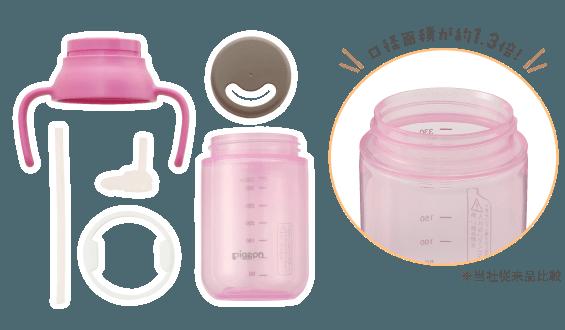 ピジョン ストローボトル クルット | 赤ちゃんのハッピーミール | ママのはじめてサポートサイト | ピジョンインフォ (130174)