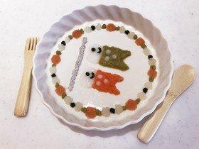 初節句鯉のぼり*離乳食初期 by あやたか3172 【クックパッド】 簡単おいしいみんなのレシピが327万品 (131519)
