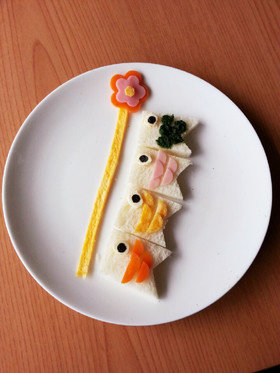 離乳食後期☆端午の節句☆食パンで鯉のぼり by ゆひmama 【クックパッド】 簡単おいしいみんなのレシピが327万品 (131530)