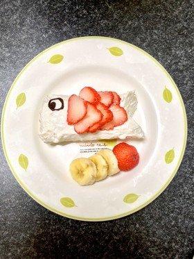 ☆離乳食中期以降☆ 簡単こいのぼりケーキ by v_v123☆ 【クックパッド】 簡単おいしいみんなのレシピが327万品 (131552)