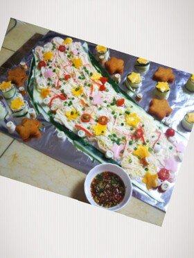 七夕そうめん by あやじゅん♪ 【クックパッド】 簡単おいしいみんなのレシピが334万品 (132435)