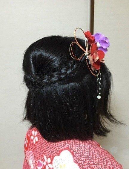 【着付け師が解説】七五三の髪型・7歳の女の子におすすめな髪型を紹介 | サンキュ! (133704)