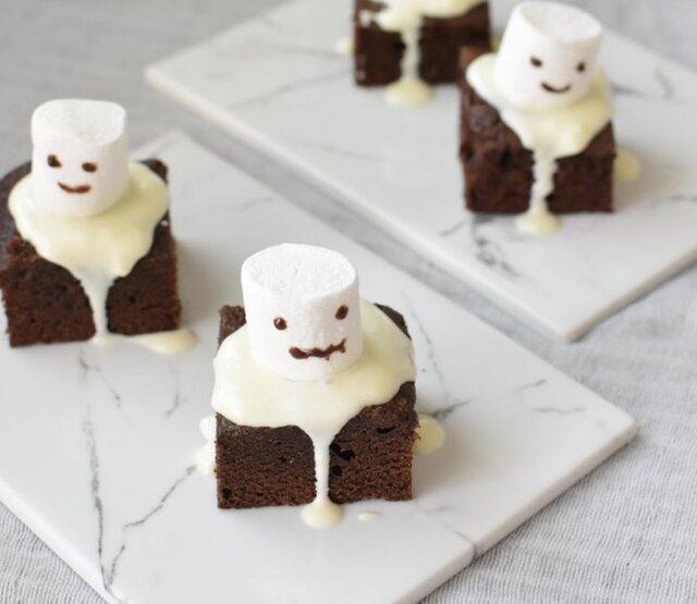 Halloween! マシュマロお化け by Mdinning 【クックパッド】 簡単おいしいみんなのレシピが341万品 (134965)