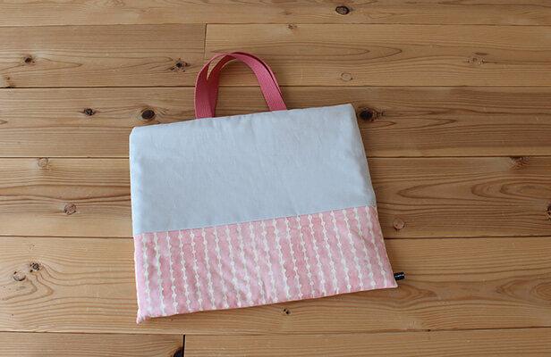 手作り通園バッグを切り替えデザインで差をつける! | nunocoto (135086)