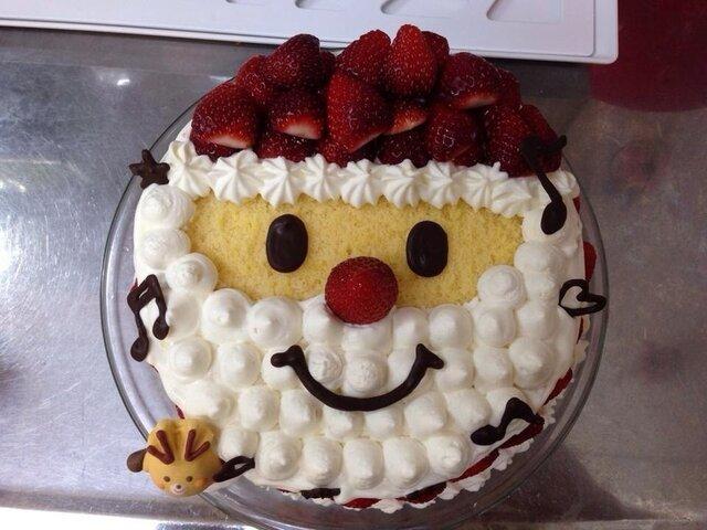 サンタのクリスマスケーキ デコレーション by ナオッシー 【クックパッド】 簡単おいしいみんなのレシピが344万品 (135635)
