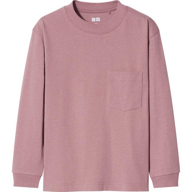 KIDS クルーネックTシャツ(長袖)