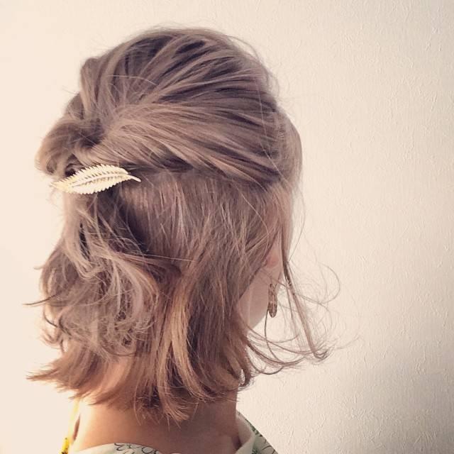 女の子らしくて可愛いヘアアレンジ♡