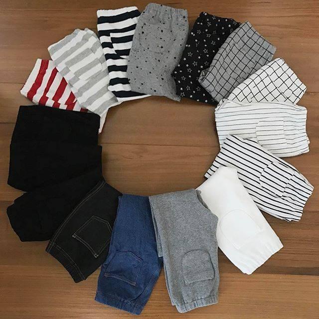 "shiho on Instagram: ""長男のUNIQLOのレギンス♡ #白黒グレー多すぎw  幼稚園では、自分で脱ぎ履きしやすい洋服っていわれてるのでUNIQLOのレギンスはもってこい! 汚れても洗濯ですぐ乾くし、毛玉もできないし☺︎ コスパ良すぎ♡ #いつも限定価格で買い足し 幼稚園でめちゃかぶりそうだけど😂…"" (85420)"