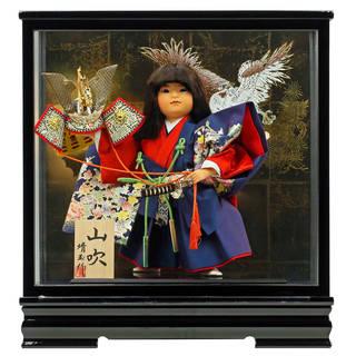 【楽天市場】「童人形 山吹 ケース飾り」  (7411)
