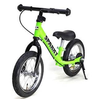 ブレーキあり。レバーは普通自転車と同じ左手のレバー。...