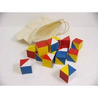 Amazon | 知育玩具 ニキーチン積木 模様作り 小 木のおもちゃ (13667)