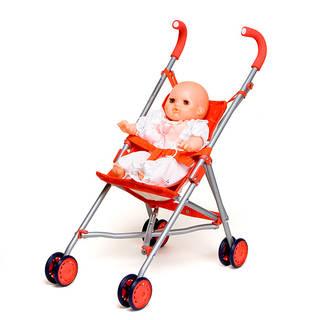 ドールバギー 赤:おもちゃ:百町森 (13834)