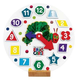 数字のはめ込みと、時計の数字の並び、両方を学ぶことがで...