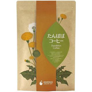 Amazon | AMOMA たんぽぽコーヒー 2.5g×30ティーバッグ ■無農薬・国内焙煎ノンカフェインコーヒー (14401)