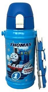人気キャラクター・トーマスの直飲み水筒。口の部分が...