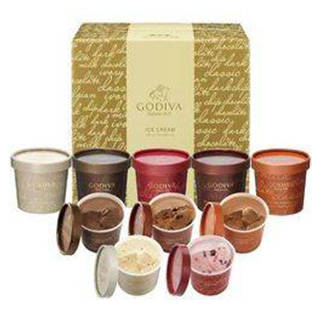 ゴディバ アイスクリームギフトセット|ベネッセ公式通販 (19908)