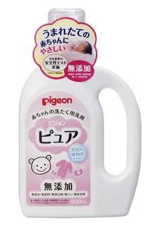 Amazon | ピジョン 赤ちゃんの洗たく用洗剤 ピュア 800ml | ベビーソープ (22044)