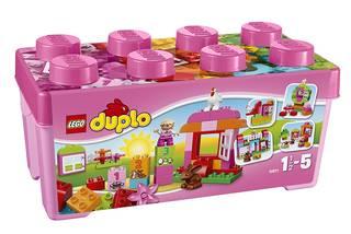 レゴ (LEGO) デュプロ ピンクのコンテナデラックス (27259)