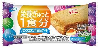 Amazon | 江崎グリコ バランスオンminiケーキ チーズケーキ 20個 (27835)