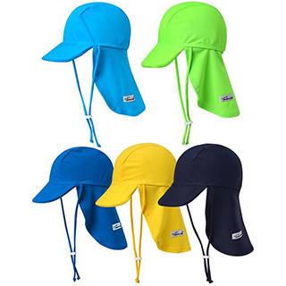 Amazon | Vaenait Baby 子供水着日焼け予防UVカットフラップキャップ帽子 (32814)