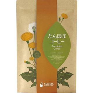 Amazon | AMOMA たんぽぽコーヒー 2.5g×30ティーバッグ ■無農薬・国内焙煎ノンカフェインコーヒー (33403)