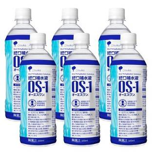 Amazon.co.jp:経口補水液 OS-1 オーエスワン 500ml × 6本 (34526)