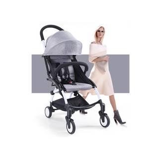 新生児から使える折りたたみタイプのベビーカー