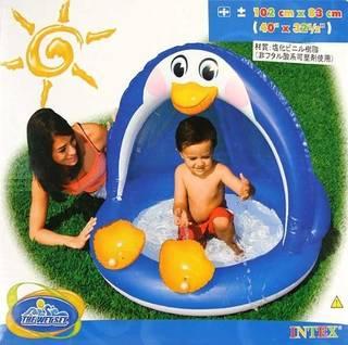 Amazon | INTEX社製ペンギンベビープール 57418(102cm×83cm) (35679)