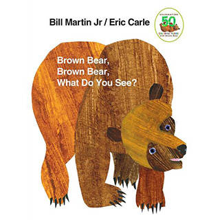 Amazon.co.jp: Brown Bear, Brown Bear, What Do You See?: Bill Martin, Eric Carle: 洋書 (36619)