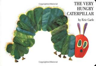 Amazon.co.jp: The Very Hungry Caterpillar board book: Eric Carle: 洋書 (36625)