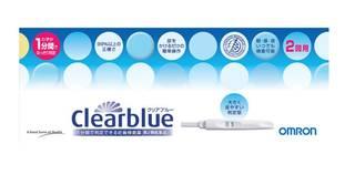 Amazon.co.jp:【第2類医薬品】オムロン 妊娠検査薬 クリアブルー 2回用:ドラッグストア (37285)
