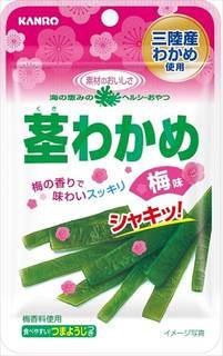 Amazon | カンロ 茎わかめ 梅味 22g×6袋 (37572)