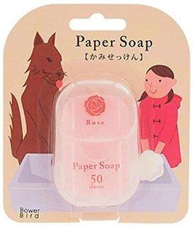Amazon | ペーパーソープ ローズの香り (38572)