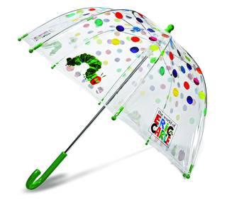 Amazon | エリック・カール はらぺこあおむし 子供用透明傘 ドット柄 (42488)