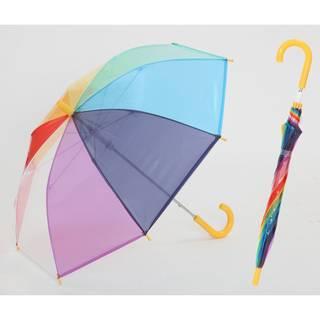 Amazon|レインボー キッズ 手開き傘 虹 子供 傘 (42489)