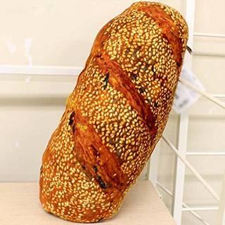 Amazon こだわり触感のもっちりパンクッション (白ごまフランスパン) クッション・クッションカバー オンライン通販 (42631)