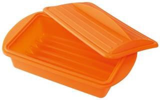 Amazon|シリコンスチーマー M オウンカラー オレンジ|電子レンジ調理用品 オンライン通販 (42648)