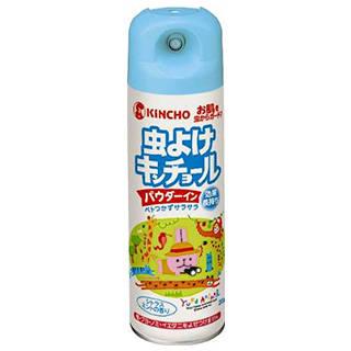 Amazon | 虫よけキンチョール パウダーイン シトラスミントの香り 200mL (蚊 ブヨ マダニ) (44597)