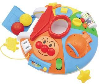 Amazon | べビラボ アンパンマン ~脳を育む~ まんまる! いたずらあそびDX | はめこみ・形合わせ | おもちゃ 通販 (45259)