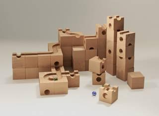Amazon | キュボロ (cuboro) キュボロ スタンダード [正規輸入品] | スロープトイ | おもちゃ 通販 (45264)