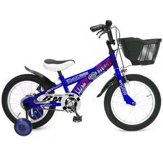 Amazon | 16インチ スチュワート ブルー 幼児 自転車(補助輪つき) 男の子 162161B | 子ども用自転車 | スポーツ&アウトドア 通販 (45763)