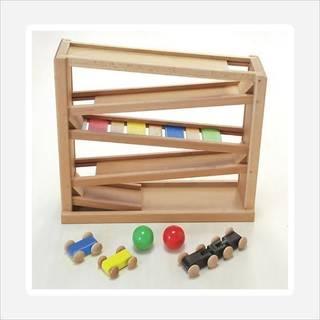 Amazon | 木製おもちゃのだいわ 吊橋ミニコースター (45858)