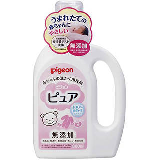 Amazon | ピジョン 赤ちゃんの洗たく用洗剤 ピュア 800ml (46346)