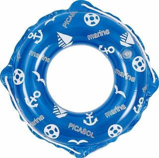 Amazon | ドウシシャ 浮き輪 ブルーマリン 50cm 子供用 (46989)