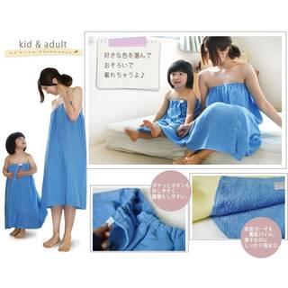 Amazon.co.jp: ブルーム スピードライ ガーゼキッズラップタオル 子供用巻きタオル: 服&ファッション小物 (46993)