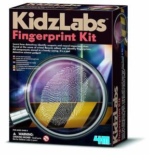 <4M 指紋鑑定キット 03248>指紋採取の方法...