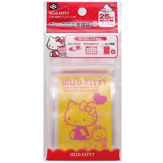 Amazon | ハローキティ チャック付き 整理袋 ミニ (25枚入)| おもちゃ 通販 (47430)