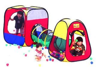 Amazon | ボールハウステントセット | 屋内遊具 | おもちゃ 通販 (48732)